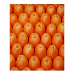 Orange Fruits Shower Curtain 60  X 72  (medium)  by AnjaniArt