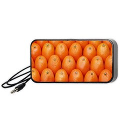 Orange Fruits Portable Speaker (black)