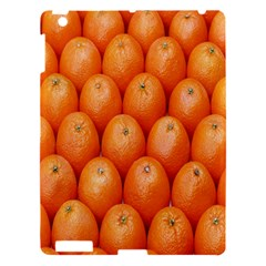 Orange Fruits Apple Ipad 3/4 Hardshell Case by AnjaniArt