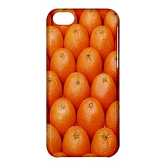 Orange Fruits Apple Iphone 5c Hardshell Case by AnjaniArt