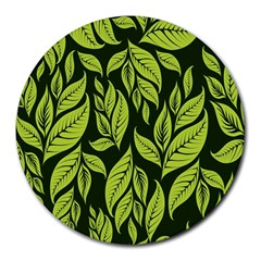 Palm Coconut Tree Round Mousepads