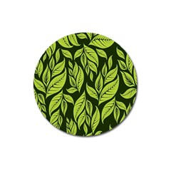 Palm Coconut Tree Magnet 3  (round)