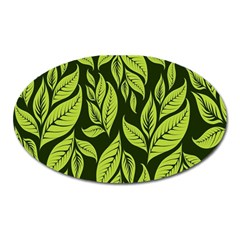 Palm Coconut Tree Oval Magnet