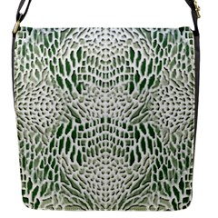 Green Reptile Scales Flap Messenger Bag (s) by RespawnLARPer