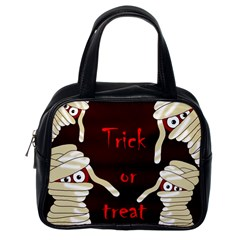 Halloween Mummy Classic Handbags (one Side) by Valentinaart