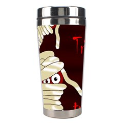Halloween Mummy Stainless Steel Travel Tumblers by Valentinaart