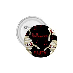 Halloween Mummy Party 1 75  Buttons by Valentinaart