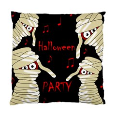 Halloween Mummy Party Standard Cushion Case (one Side) by Valentinaart