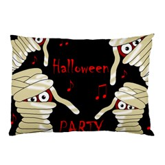 Halloween Mummy Party Pillow Case by Valentinaart
