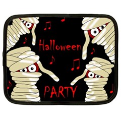 Halloween Mummy Party Netbook Case (xxl)  by Valentinaart