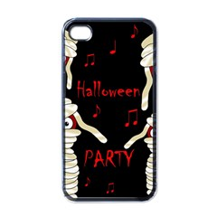 Halloween Mummy Party Apple Iphone 4 Case (black) by Valentinaart