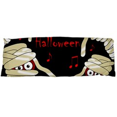 Halloween Mummy Party Body Pillow Case Dakimakura (two Sides) by Valentinaart