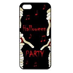 Halloween Mummy Party Apple Iphone 5 Seamless Case (black) by Valentinaart