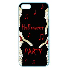 Halloween Mummy Party Apple Seamless Iphone 5 Case (color) by Valentinaart