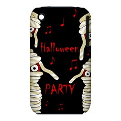 Halloween Mummy Party Apple Iphone 3g/3gs Hardshell Case (pc+silicone) by Valentinaart