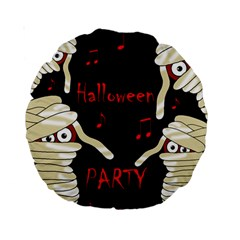 Halloween Mummy Party Standard 15  Premium Round Cushions by Valentinaart