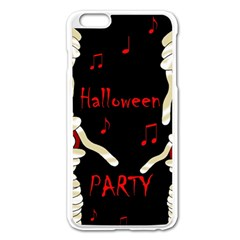 Halloween Mummy Party Apple Iphone 6 Plus/6s Plus Enamel White Case by Valentinaart