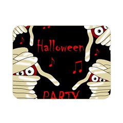 Halloween Mummy Party Double Sided Flano Blanket (mini)  by Valentinaart