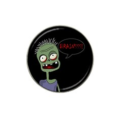 Halloween Zombie Hat Clip Ball Marker