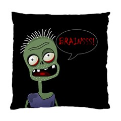 Halloween Zombie Standard Cushion Case (one Side) by Valentinaart