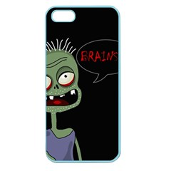 Halloween Zombie Apple Seamless Iphone 5 Case (color) by Valentinaart