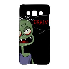 Halloween Zombie Samsung Galaxy A5 Hardshell Case  by Valentinaart