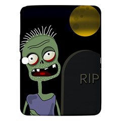 Halloween Zombie On The Cemetery Samsung Galaxy Tab 3 (10 1 ) P5200 Hardshell Case  by Valentinaart