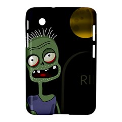Halloween Zombie On The Cemetery Samsung Galaxy Tab 2 (7 ) P3100 Hardshell Case  by Valentinaart