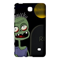 Halloween Zombie On The Cemetery Samsung Galaxy Tab 4 (8 ) Hardshell Case  by Valentinaart