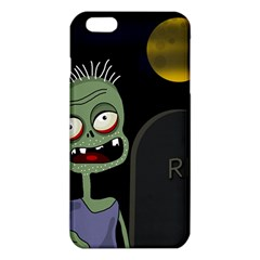 Halloween Zombie On The Cemetery Iphone 6 Plus/6s Plus Tpu Case by Valentinaart