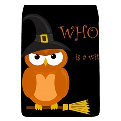 Halloween Witch   Orange Owl Flap Covers (l)  by Valentinaart