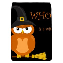 Halloween Witch   Orange Owl Flap Covers (s)  by Valentinaart