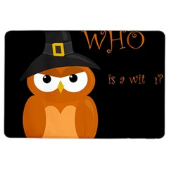 Halloween Witch   Orange Owl Ipad Air 2 Flip by Valentinaart