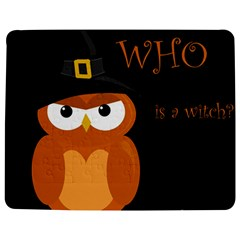 Halloween Witch - Orange Owl Jigsaw Puzzle Photo Stand (rectangular)