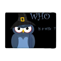 Halloween Witch   Blue Owl Ipad Mini 2 Flip Cases by Valentinaart