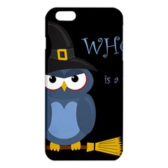 Halloween Witch   Blue Owl Iphone 6 Plus/6s Plus Tpu Case by Valentinaart