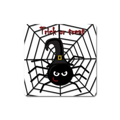 Halloween Cute Spider Square Magnet by Valentinaart