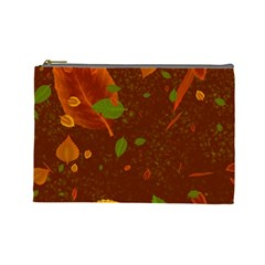 Autumn 01 Cosmetic Bag (large)  by MoreColorsinLife