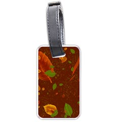 Autumn 01 Luggage Tags (one Side)