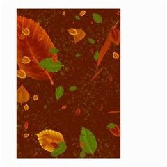 Autumn 01 Small Garden Flag (two Sides) by MoreColorsinLife