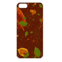 Autumn 01 Apple Iphone 5 Seamless Case (white) by MoreColorsinLife
