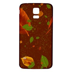 Autumn 01 Samsung Galaxy S5 Back Case (white) by MoreColorsinLife