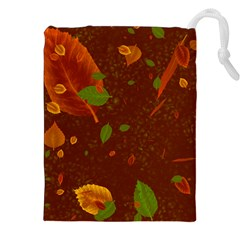 Autumn 01 Drawstring Pouches (xxl) by MoreColorsinLife