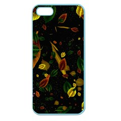 Autumn 03 Apple Seamless Iphone 5 Case (color) by MoreColorsinLife