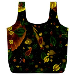 Autumn 03 Full Print Recycle Bags (l)  by MoreColorsinLife
