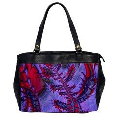 Freaky Friday Red  Lilac Office Handbags