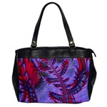 Freaky Friday Red  Lilac Office Handbags Front