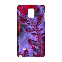 Freaky Friday Red  Lilac Samsung Galaxy Note 4 Hardshell Case by Fractalworld
