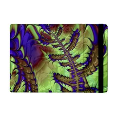 Freaky Friday, Blue Green Apple Ipad Mini Flip Case by Fractalworld