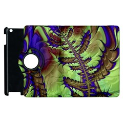 Freaky Friday, Blue Green Apple Ipad 3/4 Flip 360 Case by Fractalworld